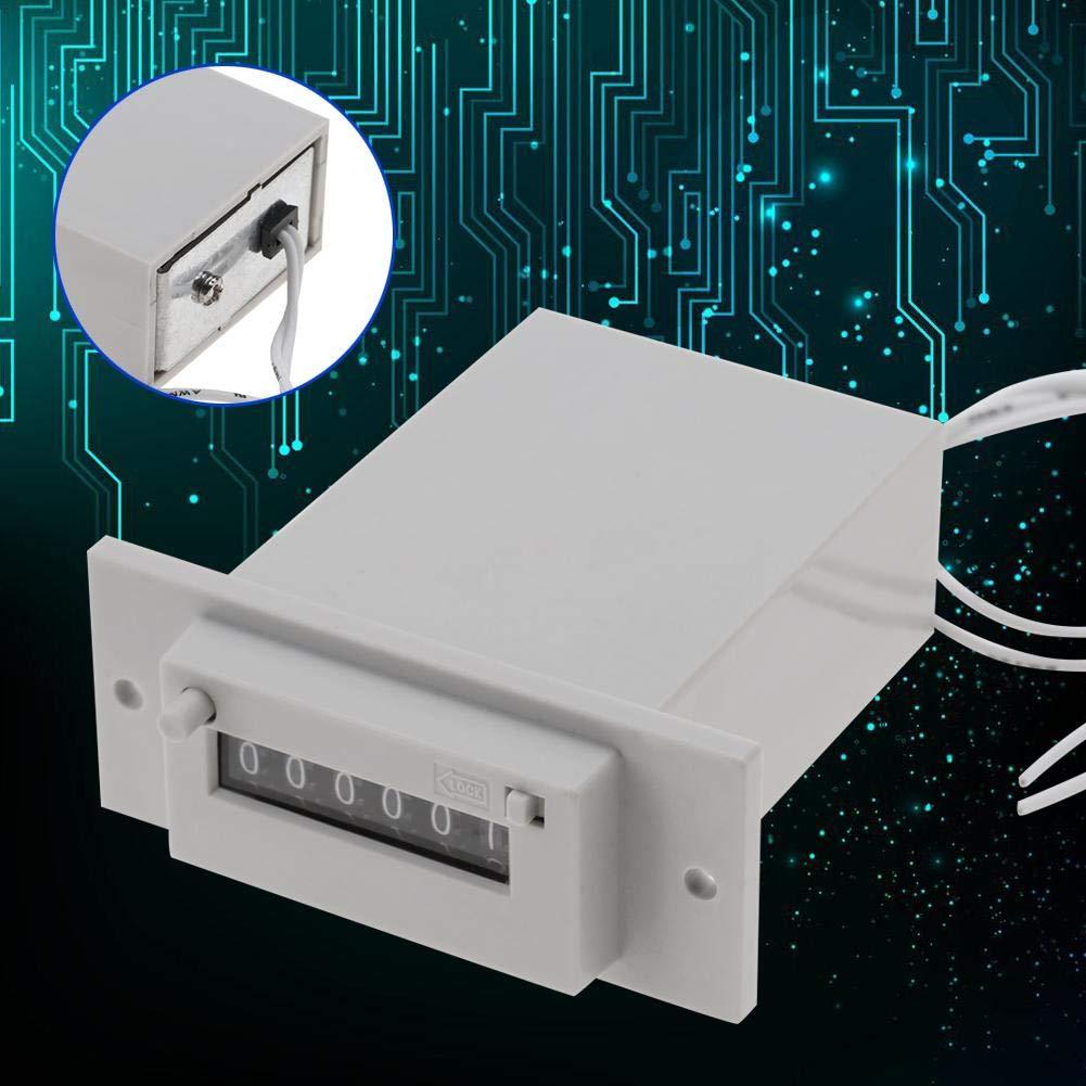 Compteur dimpulsions et /év/énements /électromagn/étiques /à 6 chiffres Compteur dimpulsions /électromagn/étique CSK6-YKW AC110V // AC220V // DC24V AC220V