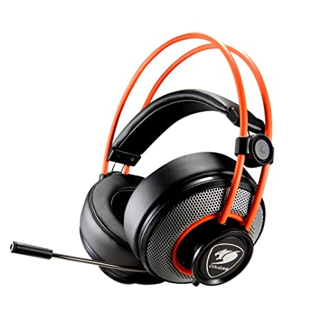 c0fc5dc3f62 Cougar CGR-P40NB-300 Inmersa Gaming Headset - Microphone and Volume Control  - Lightweight