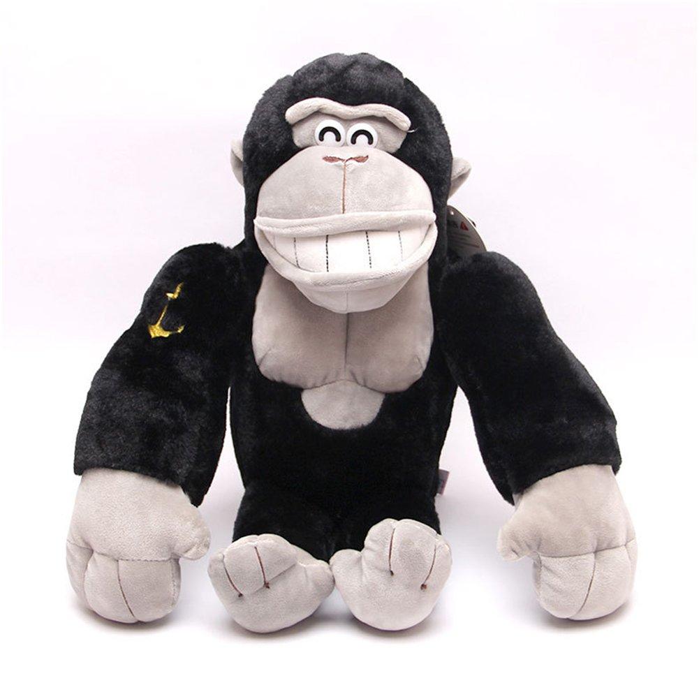 Wukong 21.5'' Plush Gorilla Stuffed Animal (Black-Big)