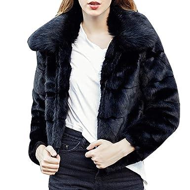 WINJIN Manteau Femme, Manteau en Peluche pour Femmes Manteau