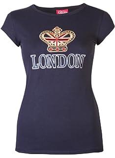 Camiseta para mujer, con el mensaje impreso