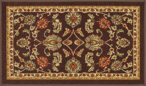 - Well Woven 66333 Kings Court Tabriz Traditional Brown Oriental 2' x 3' Mat Accent Indoor/Outdoor Rug