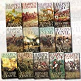 img - for Bernard Cornwell Sharpe Collection 13 Books Set (Sharpe's Escape, Sharpe's Havoc, Sharpe's Prey, Sharpe's Devil, Sharpe's Enemy, Sharpe's Company, Sharpe's Fury, Trafalgar, Fortress, Triumph, Tiger.. book / textbook / text book