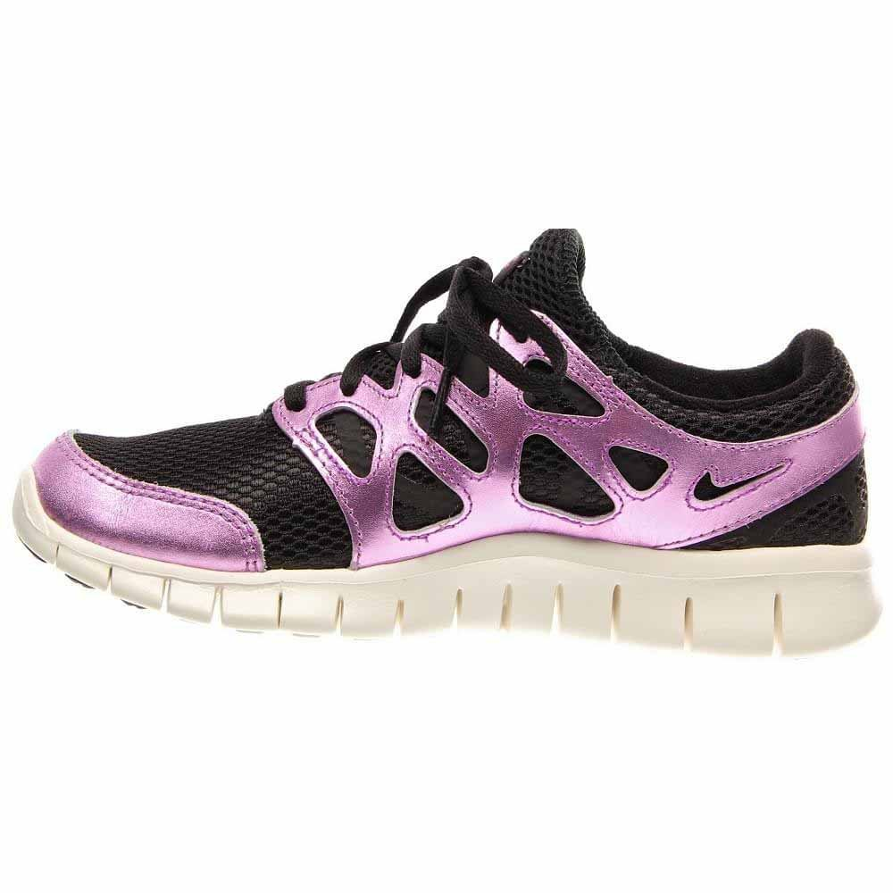 Nike Free Run+ 2 Prm Ext Womens Size 9.5 Purple Mesh Running Shoes
