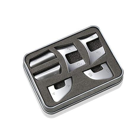 Eruditter Botones del Volante Lentejuelas Etiqueta Engomada del Coche Actualización Decoración Calcomanías Etiqueta Engomada para Volkswagen