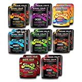 TeaZa Energy Variety Pack 16 pk.- Flip Tops, 8 Flavors Smokeless Tobacco Alternative