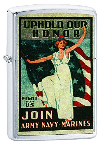 Zippo Uphold Your Honor Pocket Lighter