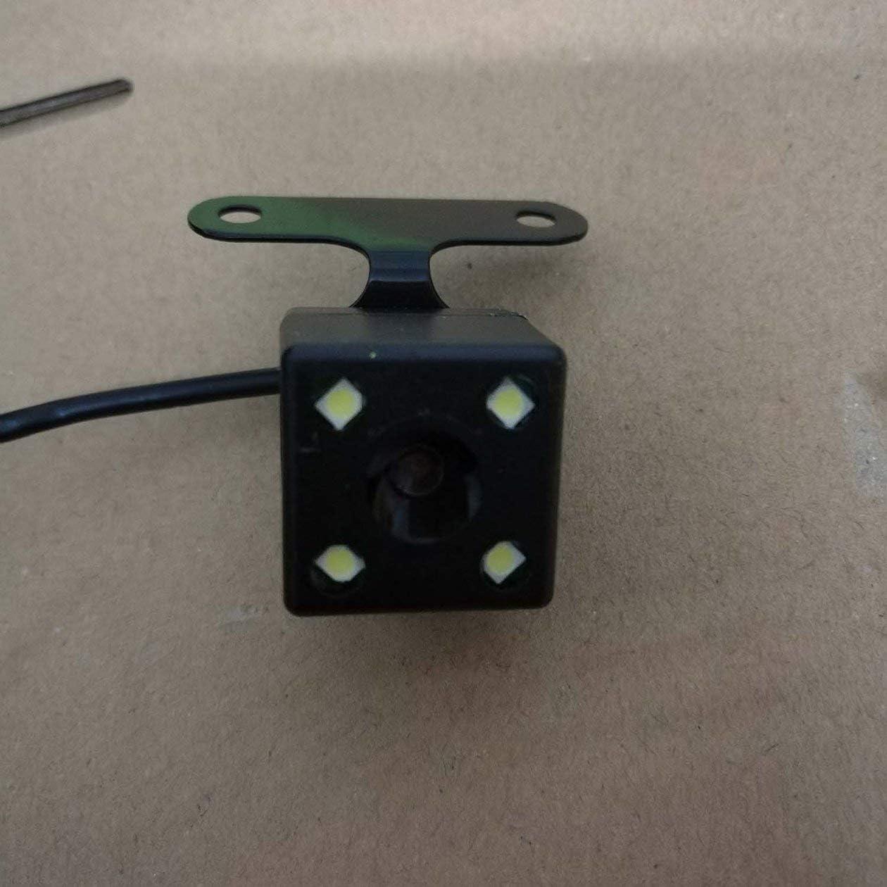 Cam/éra de recul pour v/éhicule BIYI Double cam/éra Grand Angle de Vision 720P HD Couleur CCD /étanche v/éhicule Voiture cam/éra de recul Noir