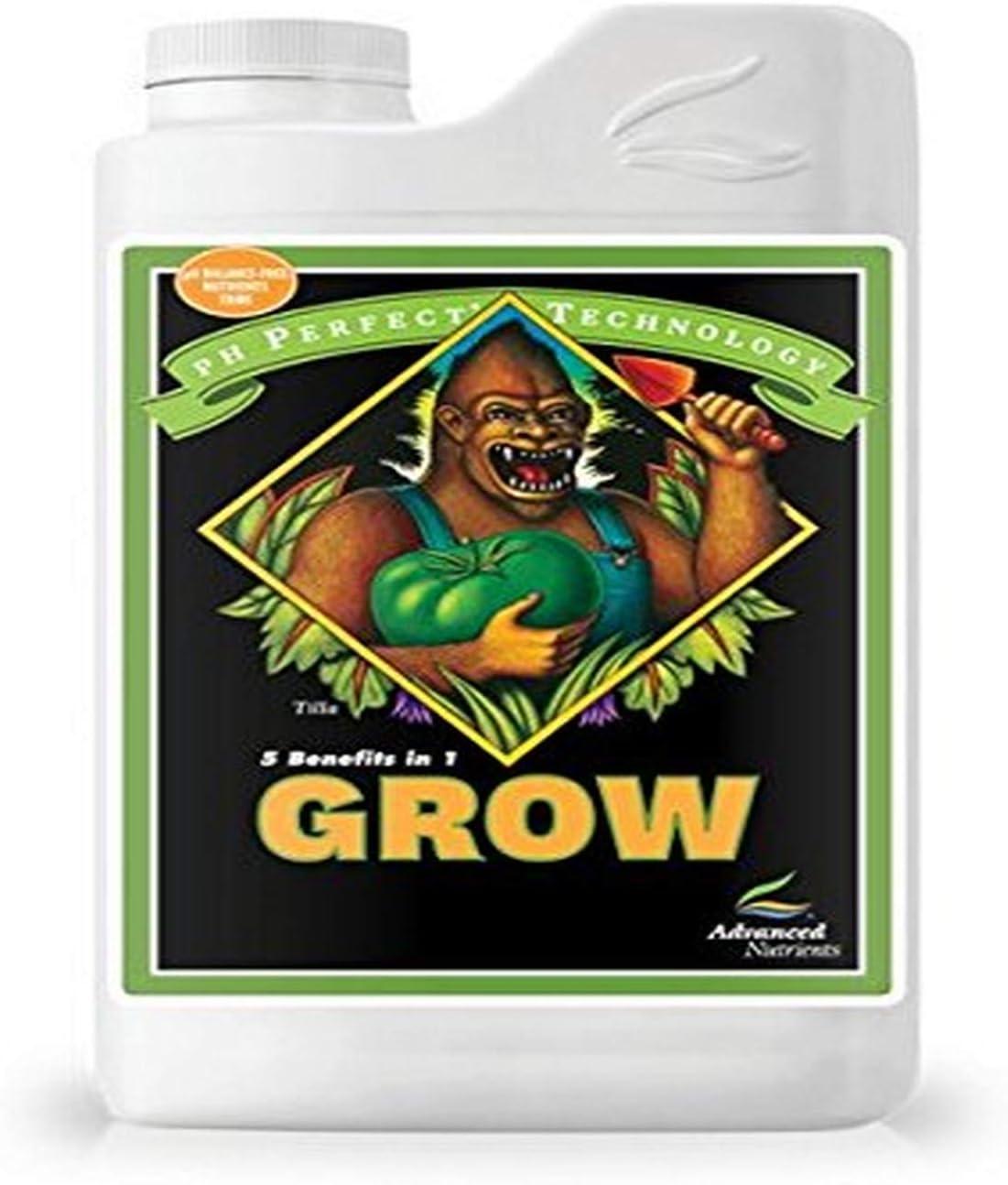 Advanced Nutrients 1301-14 Grow pH Perfect Fertilizer, 1 Liter, Brown/A