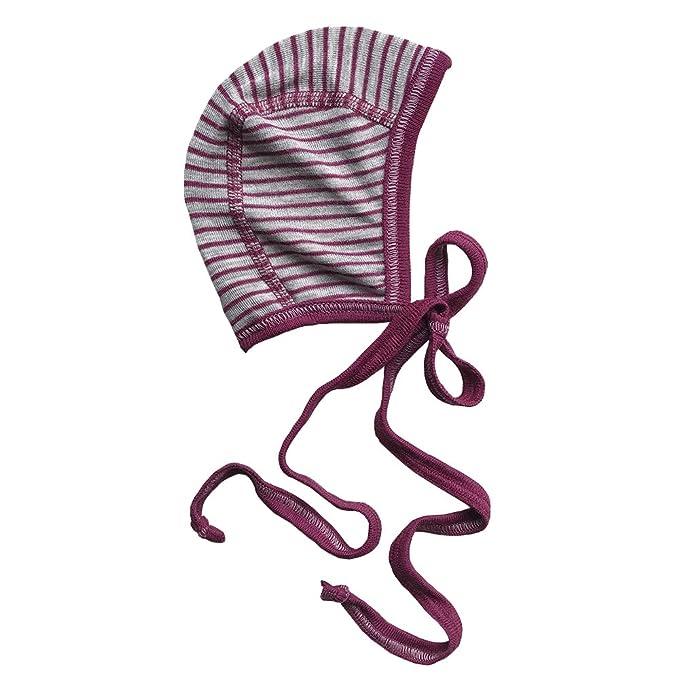 Amazon.com: Bebé recién nacido capó Sombrero con los lazos ...