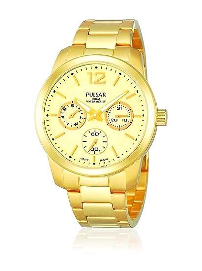 Pulsar Reloj analogico para Mujer de Cuarzo con Correa en Acero Inoxidable PP6060X1