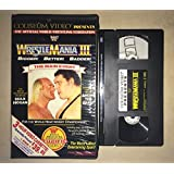 WWE/WWF 1985 VHS WRESTLEMANIA 1 FIRST ONE