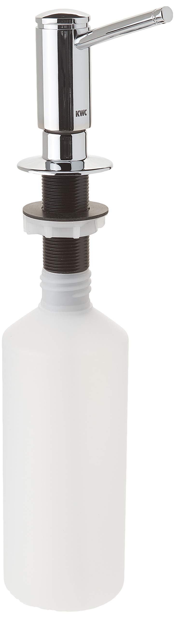 KWC Faucets Z.504.938.000 PRIMO Soap Dispenser, 3-1/4'', Chrome by KWC Faucets (Image #1)