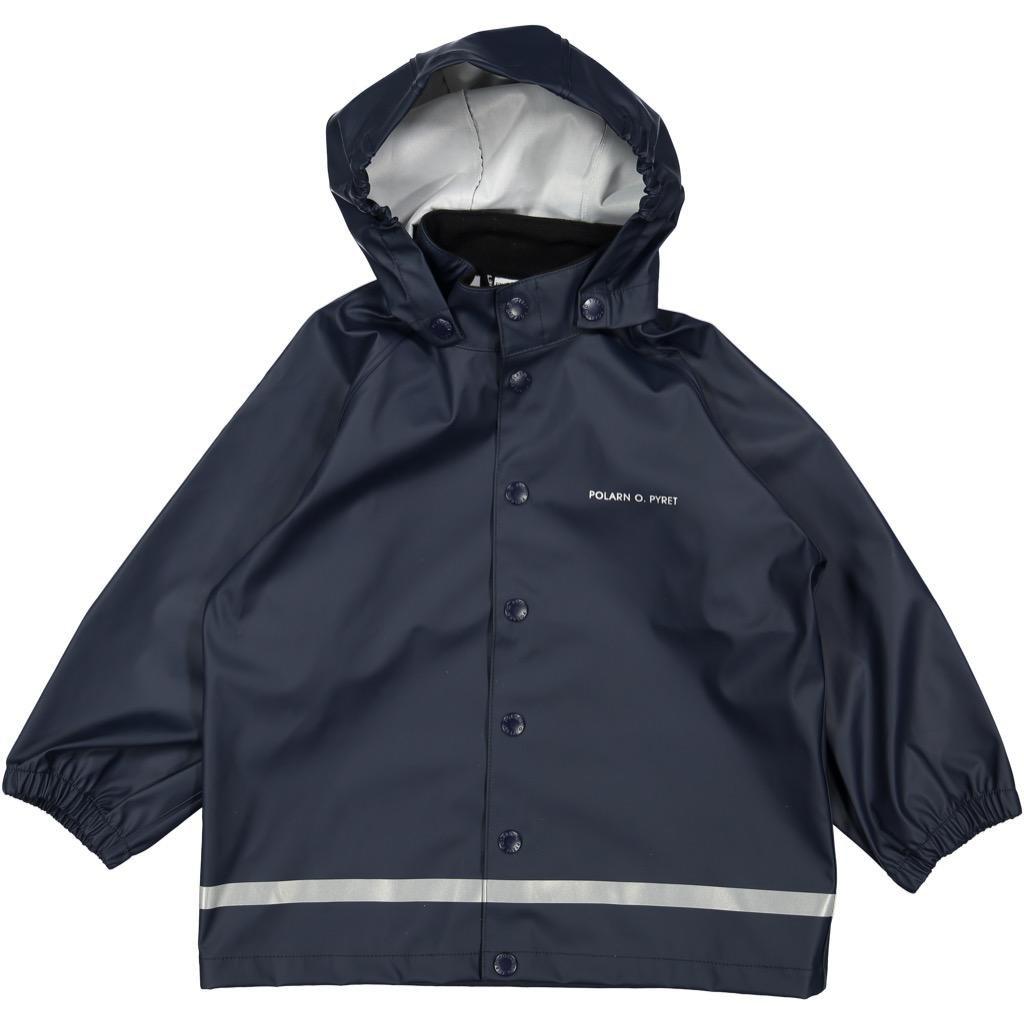 Polarn O. Pyret Classic RAIN Jacket (2-6YRS) - Dark Sapphire/4-6 Years