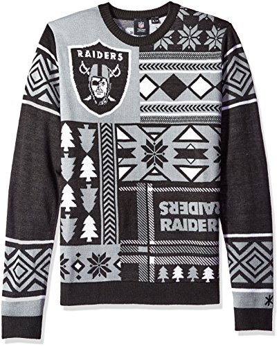 Oakland Raiders Ugly Sweater Raiders Christmas Sweater Ugly
