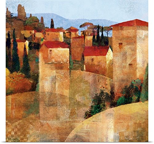 greatBIGcanvas Poster Print entitled Tuscan Hillside by Keith Mallett 20