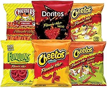 40 Count Frito-Lay Flamin Hot Mix Variety Pack