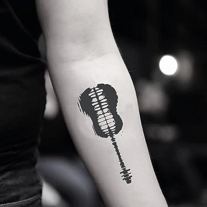Shawn Mendes Guitare Autocollant De Faux Tatouage Temporaire Lot De