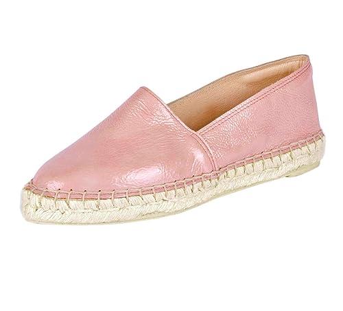 Heine - Mocasines de Charol para Mujer Rosa Rosa, Color Rosa, Talla 35 EU: Amazon.es: Zapatos y complementos