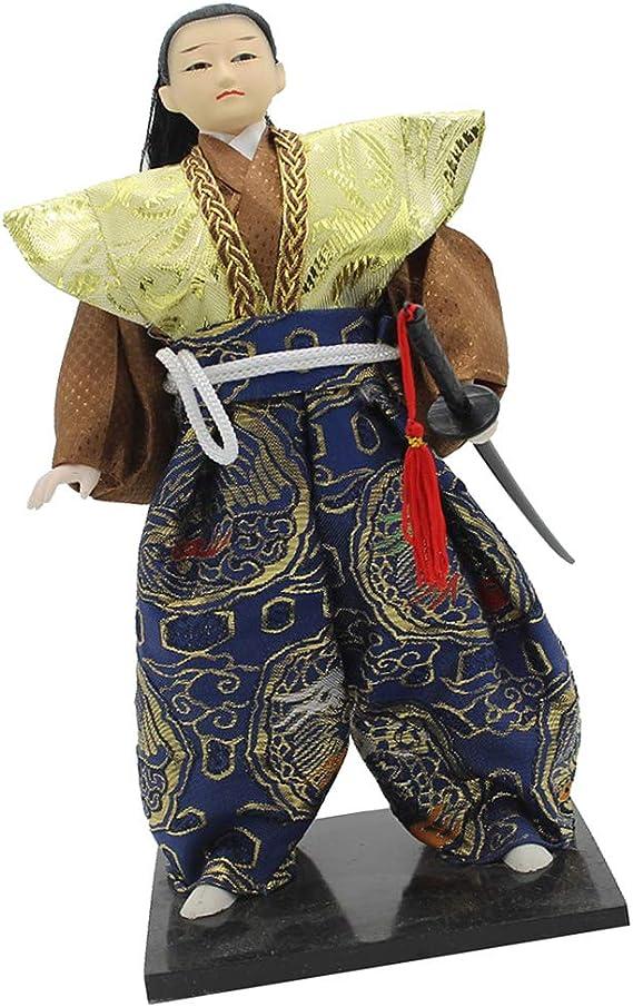 Toygogo Delicada Decoración Japonesa De Muñecas De Arte Samurai, Katana Sword Ninja Shi Figurine 12 Pulgadas, 3 Estilos para Elegir - #1: Amazon.es: Juguetes y juegos