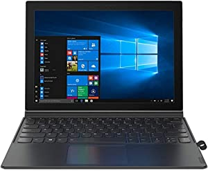 "2019 Lenovo Miix 630 2-in-1 12.3"" FHD Touchscreen Laptop Computer, Qualcomm Snapdragon 835 Octa-Core Up to 2.45GHz, 4GB DDR4, 128GB SSD, Active Pen, 1 Year Extended Seller Warranty, Windows 10 Home"
