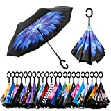 Best Brella Umbrellas - Spar. Saa Double Layer Inverted Umbrella with C-Shaped Review
