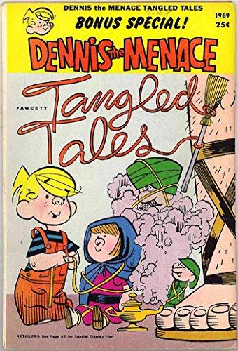 Hood Miss Riding (Dennis the Menace Tangled Tales Bonus Book - 1969 Fawcett Giant Comic - Red Riding Hood - Jack & the Beanstalk - Hansel & Gretel)