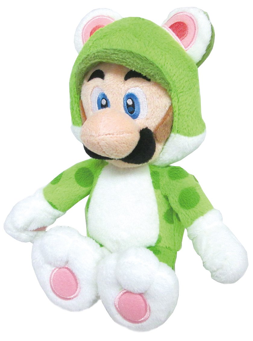 Sanei Super Mario 3D World Neko Cat Luigi 9