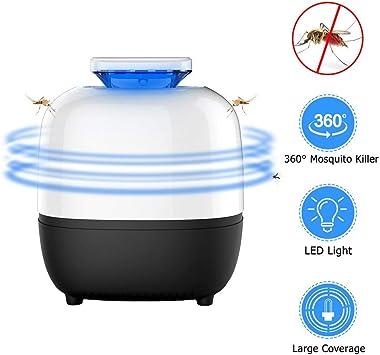Insecticide électrique DEL Moustique Tueur Insectes Piège UV moustiques Lampe