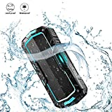 BlitzWolf Portable Bluetooth Speakers Waterproof 10W 2000mAh IPX5 Water-resistant Hands Free Wireless 8+ hours MP3 Music Player for Home Shower and Outdoor Activity Blue