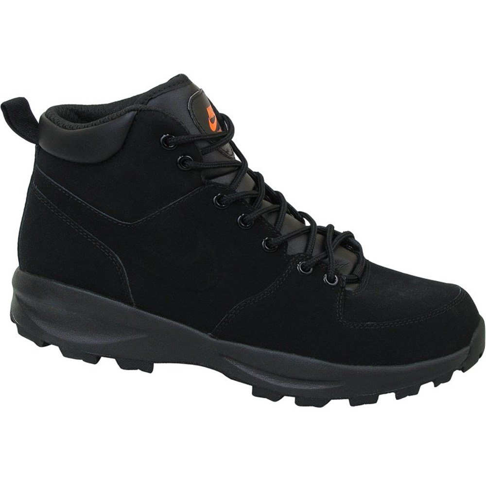 buy popular 67167 1b89c Galleon - NIKE Mens Manoa Leather Boots Black Black 454350-080 Size 9