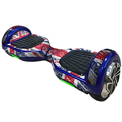 "6,5"" Coque Hoverboard Protection Autocollant, Vococal® Personnalisé Super Cool Protection Stickers pour Hoverboard【 6,5 pouces】 Smart Scooter Skateboard Électrique 2 Roues - D#"