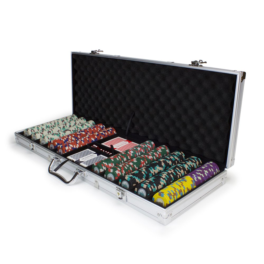 500 500 CtポーカーKnights Poker ChipセットinアルミニウムCarryケース、13.5-gram B01KOVBGV6 HeavyweightクレイComposite by Claysmithゲーム Poker B01KOVBGV6, AsianTyphoOon:40d3ee13 --- itxassou.fr