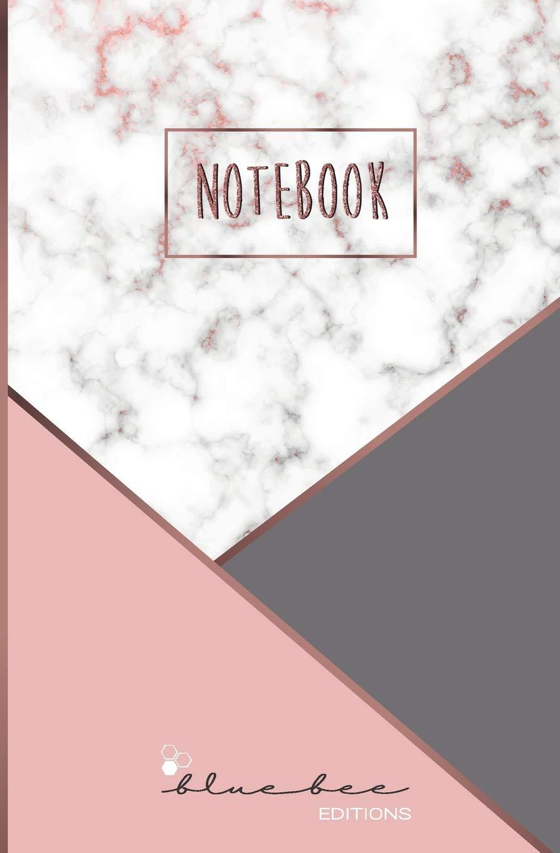 Notebook: Cuaderno con páginas de puntos -marmol