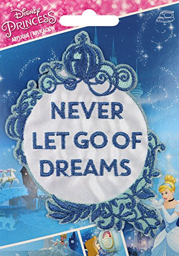 Wrights Cinderella Disney Princess Iron-On - Princess Iron Disney On