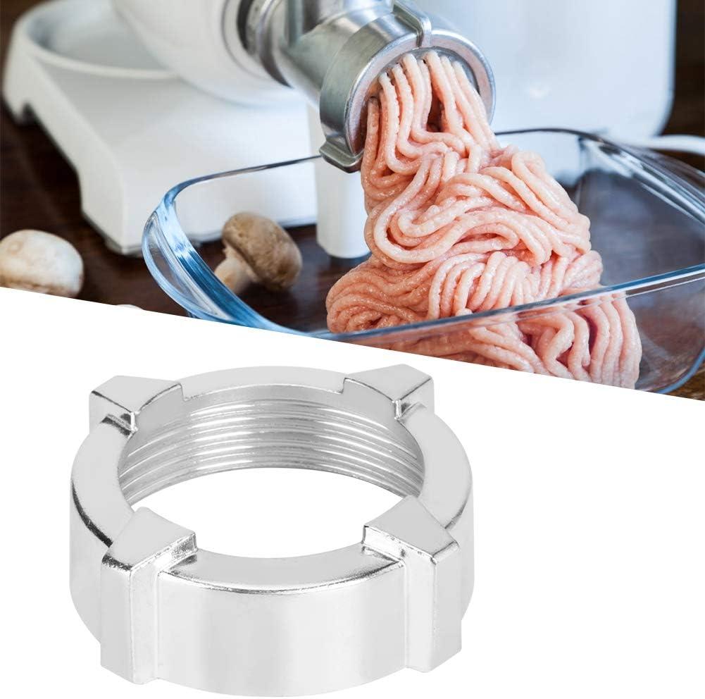 Durevole Forniture da cucina In acciaio inossidabile Tritacarne Dado Tritacarne Dado per tritacarne elettrico per uso domestico 7.8X2.6cm Tritacarne