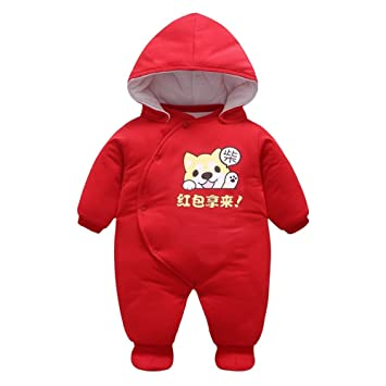 9f3e85b1ab11 Toddler Girls Boys Footed Rompers - Mxssi Overall Newborn Baby Animal Jumpsuits  Unisex Overalls Romper Warm