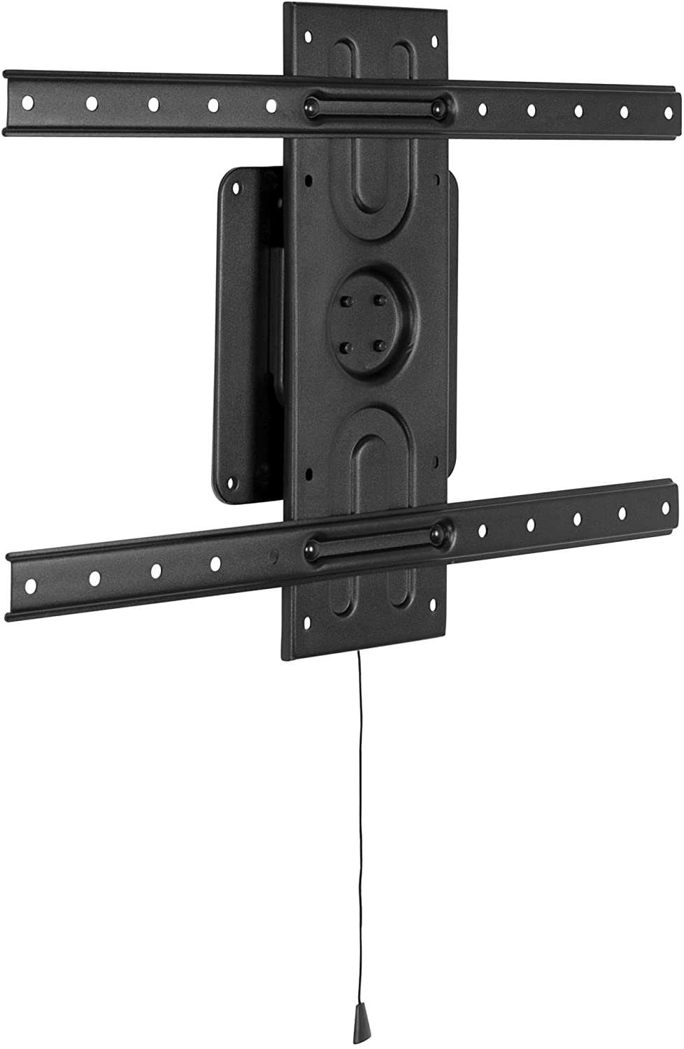 Mount-It! Landscape to Portrait Rotating TV Wall Mount | Vertical Flush TV Mount with 360 Degree Rotation | Fits VESA Up to 600x400, 37 to 80 Inch Screens, 110 Lbs Capacity
