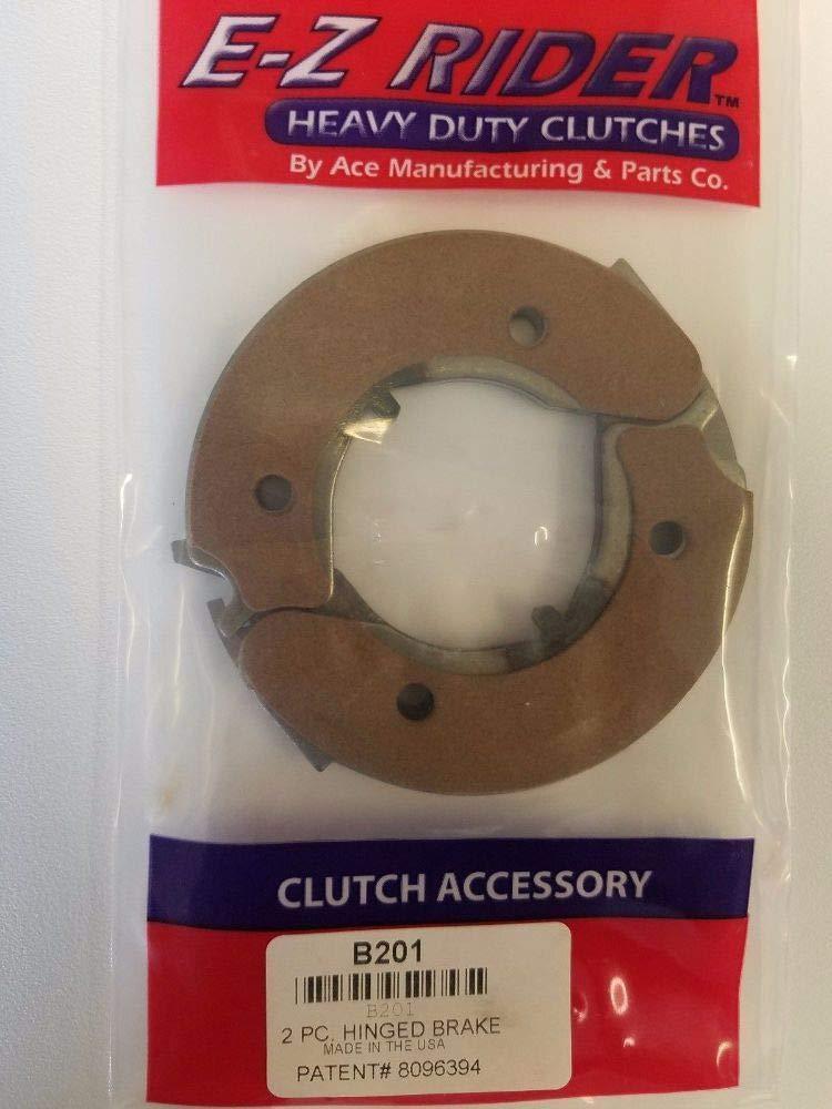Ace B201 Clutch Brake 2'' Quick-Change hinged Eaton Transmission