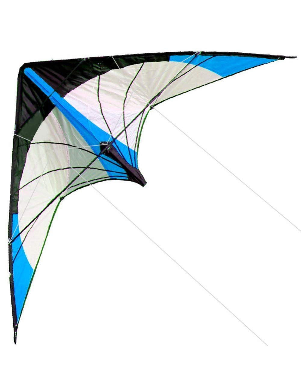 ZSYF Kite Outdoor Fun Sports New 48 Inch Dual Line Stunt Kites bluee Kite With Handle And Line Good Flying