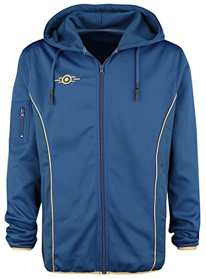 Difuzed Fallout 76 Vault 76 Tec Teq Hoodie Amazon Co Uk Clothing