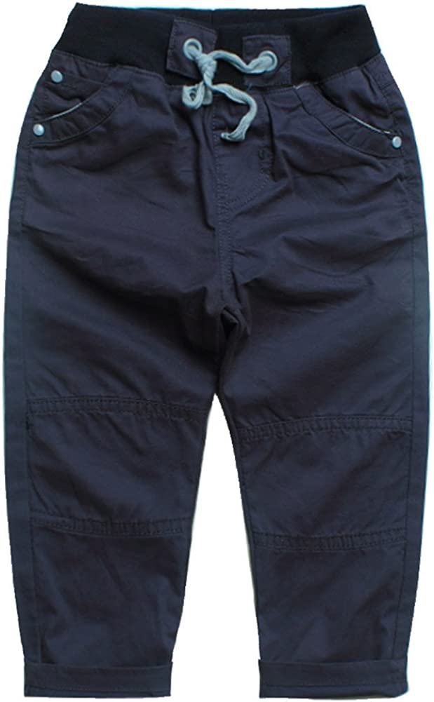 E-Tree Boys Pants 100/% High Density Cotton Special Knee Trousers