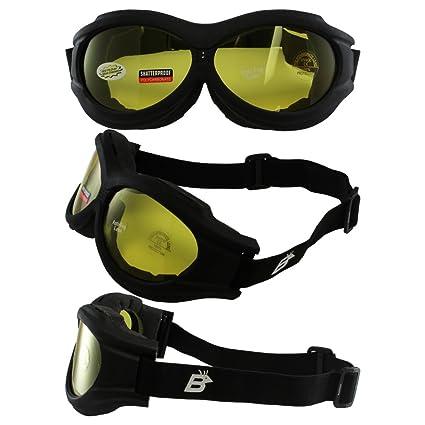 Amazon Com Birdz Eyewear The Buzzard Motorcycle Goggle Fits