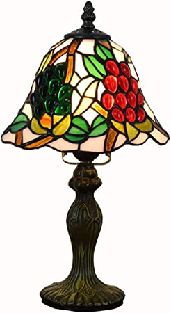 JEANN WSLamp Tiffany Lamps Stained Glass Coffee Table Lamp 8