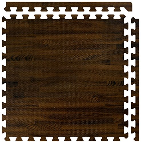 "SoftWood Flooring, 10'x20' Floor, Walnut, 5/8"" thick"