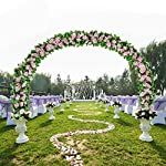 Flower-Ivy-Garland-Artificial-Silk-Rose-Garland4-Strands-Each-Strand-79FT-Fake-Flower-Ivy-Leaf-Vine-Plants-Home-Hanging-Party-Garden-Wedding-DecorPink