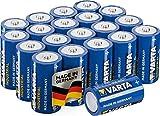 Varta Industrial Battery C Baby Alkaline Batteries LR14 - pack of 20, Made in Germany