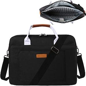 14 Inch Padded Laptop Shoulder Bag for Dell Latitude 3310 3410 5400 5410 5411 5424 7400 7410 9410