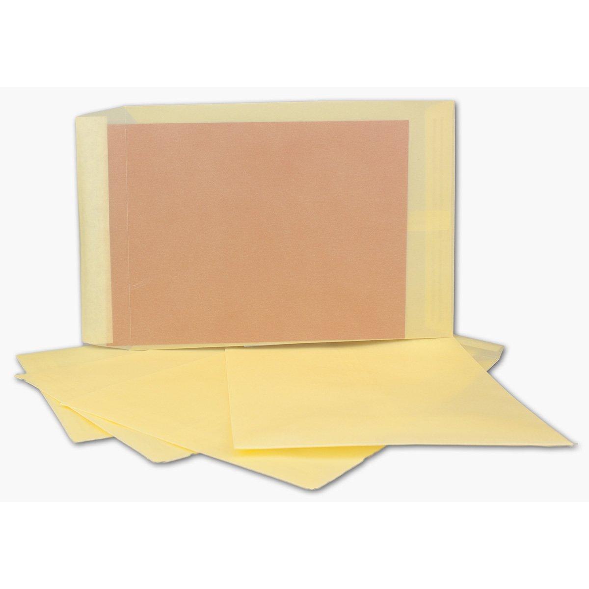 Transparente Umschläge DIN C5   200 Stück     Pastell-Orange-transparent mit seitlicher Verschlusslasche   Haftklebung   162 x 229 mm   Moderne Umschläge für Einladungen, Promotions, Giveaways B07JN9K3NS | Up-to-date-styling  5381d9