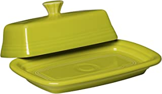 product image for Fiesta Covered Butter Dish, X-Large, Lemongrass